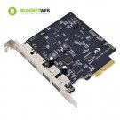 NewerTech MAXPower 2x 2 USB/eSATA PCIe 2.0 Host Adapter for Mac OS X 10.6 - 10.8