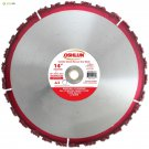 Oshlun SBR-CH14 14-Inch Carbide Chunk Blade with 1-Inch Arbor for Rescue and Dem