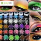 30 Colors Eye Shadow Powder pigment Colorful Makeup Mineral Eyeshadow Pigment se