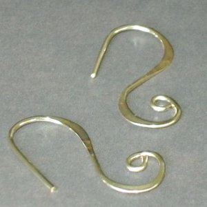 Simple Swirl Gold Heavy Weight