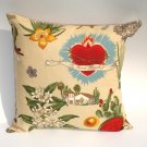 Frida Kahlo Art Mexican Novelty throw Pillow 12x12in.