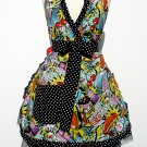 Sweet Midnight Snack Full Apron Deluxe