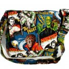 Hollywood Monster Large Messenger Purse w/adjustable handles