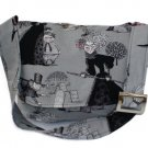 Ghastlies Witches Halloween Spooky Large Messenger Purse