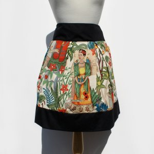 Fridas Garden Pleated Skirt