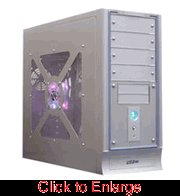 Powmax V90 Select Aluminum Case w/ 400w Power Supply