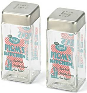 Mothers Kitchen Salt & Pepper shakers