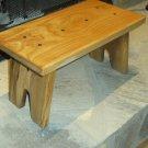 Walnut Wood Handmade Step Stool