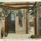 Color Postcard Garden of the Bells Riverside California