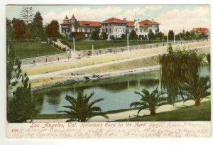 Color Postcard  Hollenbeck Home for the Aged Los Angeles California