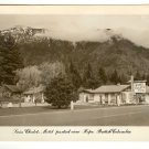 Photo  Postcard  Swiss Chalets Motel Hope British Columbia Canada