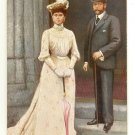 Color Postcard Their Majesties  King George V and Queen Mary
