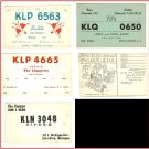 Lot of 5 Radio Communication Cards