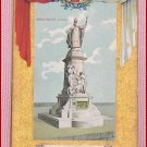 Color  Postcard  Monument Laval  Quebec Ter-Centenary 1608 -1908 Quebec, Canada