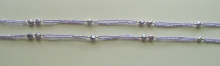 Beaded Bra Straps Purple 7