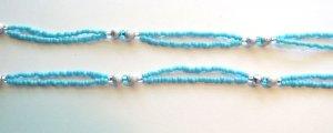 Beaded Bra Straps Turquoise 15