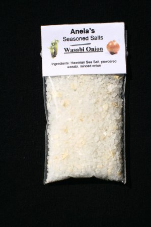 Wasabi Onion Hawaiian Seasoned Salt, 1 oz.