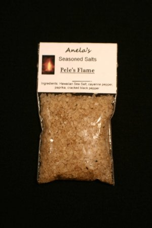 Pele's Flame Hawaiian Seasoned Salt, 1 oz.