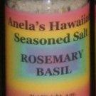 Rosemary Basil Hawaiian Seasoned Salt, 4 oz.