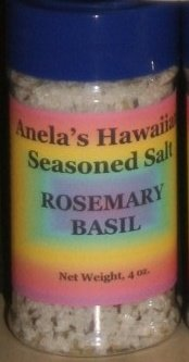 Rosemary Basil Hawaiian Seasoned Salt, 4 oz.
