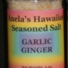 Garlic Ginger Hawaiian Seasoned Salt, 4 oz.