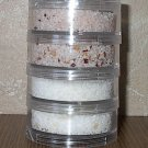 French Salt Pillar - collection of 4 seasoned salts