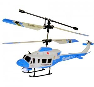 UJ4704 Mini Gyroscope 3.5 Channel Infrared RC Helicopter (Blue)