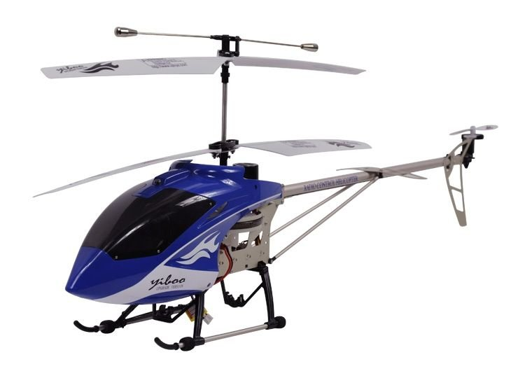 "Yiboo UJ374 3.5 CH 32"" RC Helicopter - Blue (Large)(UJ374_B)"