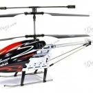 "Yiboo UJ317 Finback 3.5 Channel Flash Light 30"" RC Helicopter w/ Gyro - Black (Large)(UJ317_BL)"
