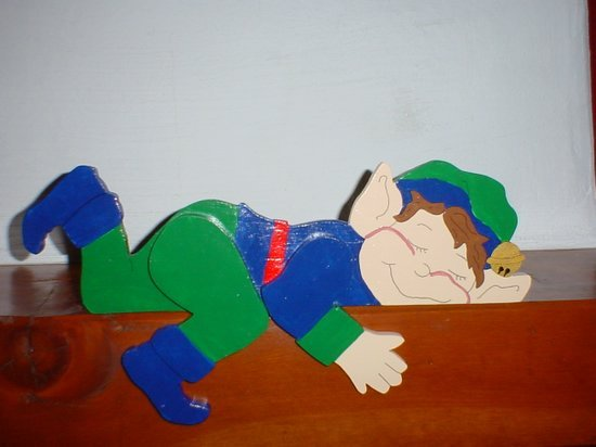 Elf Railpet Doortopper