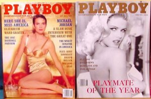 Anna Nicole Smith Playboy Set of Two FREE SHIPPING