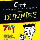 C++ for Dummies All-In-One Desk Reference (7 Books in One)