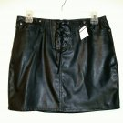 No Boundaries Skirt size 3 / 30w mini faux leather pleather women new