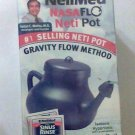 Neti Pot Nasaflo NeilMed sinus rinse 8oz with 2 or more rinse packs travel new