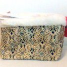Sassy & Chic Bag clutch cosmetic purse evening hand strap travel embroidered tapestry new