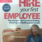Hire Your First Employee book Rhonda Abrams new