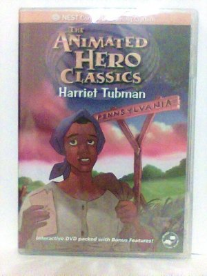 Animated Story Of Harriet Tubman DVD history cartoon new