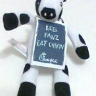 Chick-fil-a Cow Fanz Cow 6 inch doll toy limited new