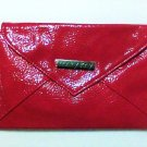 Mary Kay clutch Bag Red envelope faux leather 8 x 5 inch new