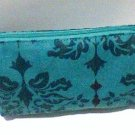 Allegro Bag cosmetic clutch 4x6 blue garden variety new