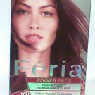 L'Oreal F'eria Power Reds High Intensity Shimmering Colour Deep Burgundy R37 new