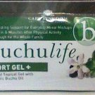 Buchu Life Sports Gel 6 count travel personal size new