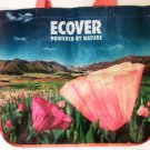 Ecover reusable shopping Bag flat bottom folding travel new