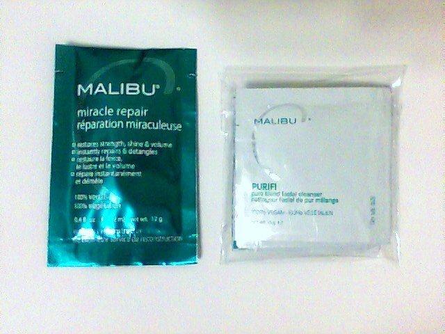 Malibu C Skin Care Set pack travel trial hair new