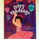 Lola's Fandango Storybook w/ CD English children book new