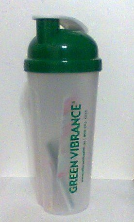 Green Vibrance Shaker Bottle new