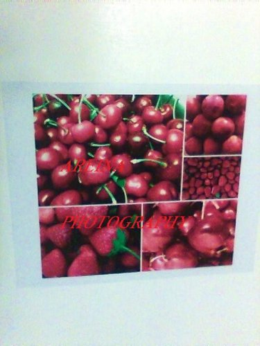 Red Summer Fruit collage photo 8x10 print cherry new