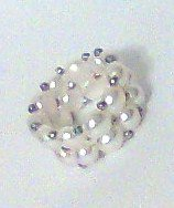 RING Freshwater Pearl stretch white new