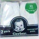 Waterproof Pants 2 pack diaper covers Gerber baby 12 months new