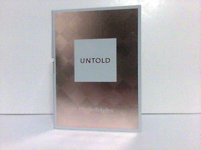 Elizabeth Arden UNTOLD eau de perfum 1.5 ml spray fragrance  trial/travel new